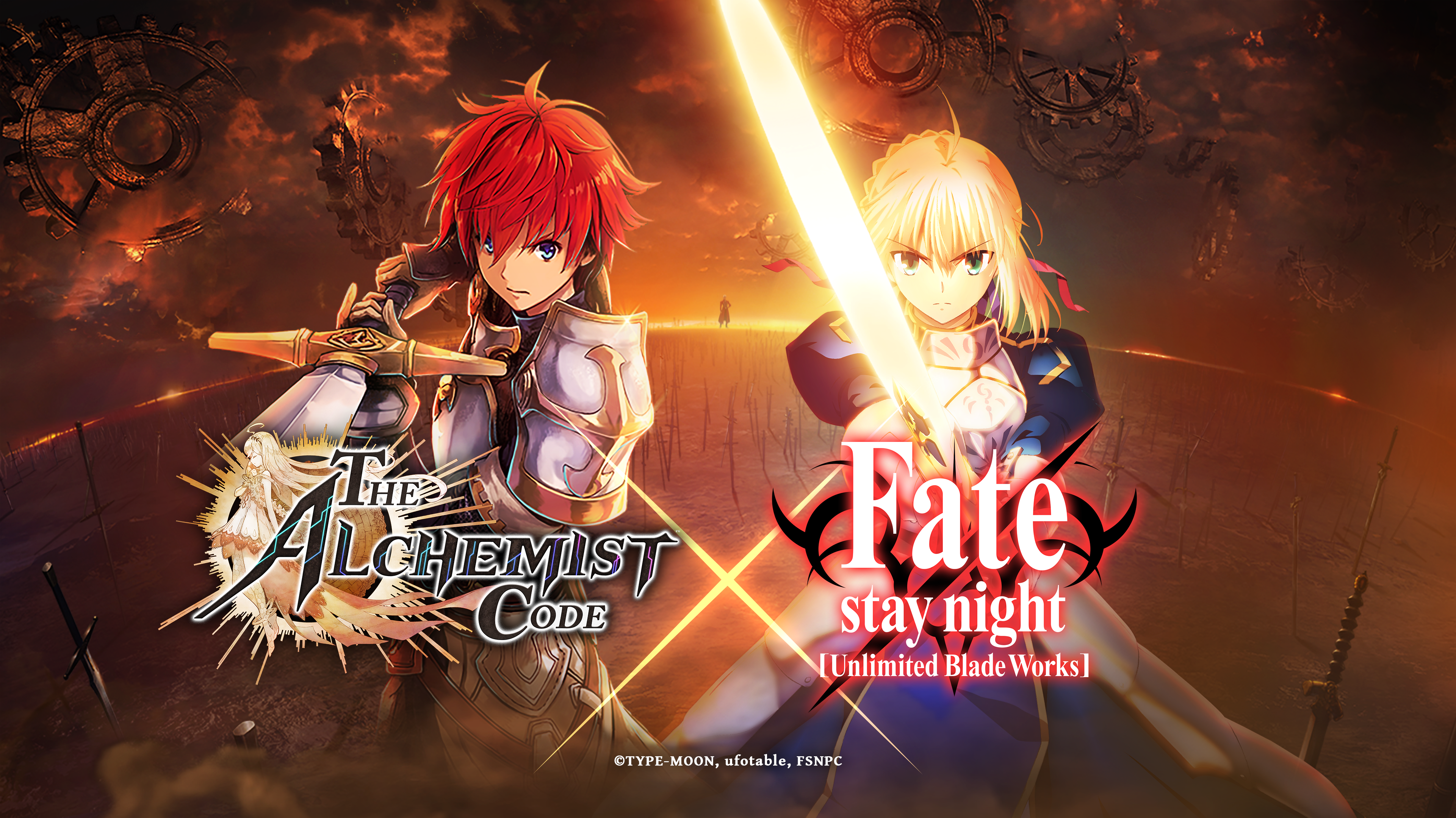 The Alchemist Code Hadirkan Karakter-Karakter Populer dari Serial Fate/stay night [Unlimited Blade Works]