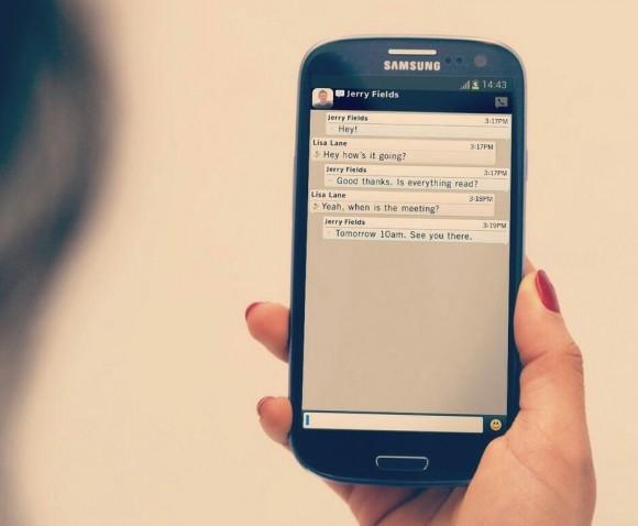 Gambar Aplikasi BBM di OS Android
