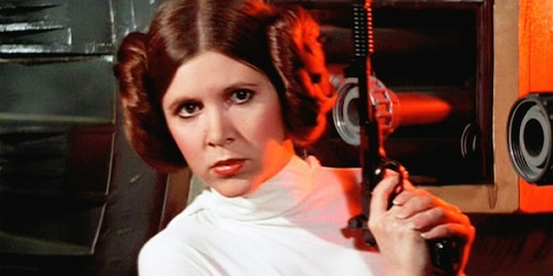Carrie Fisher, Ratu Leia di Film Star Wars Tutup Usia