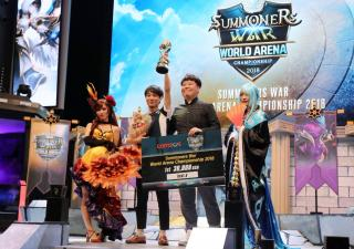 Keseruan Final Dunia Summoners War World Arena Championship 2018 di Korea Selatan