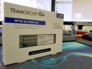 Menjamah Budget NVMe: Team Group MP34