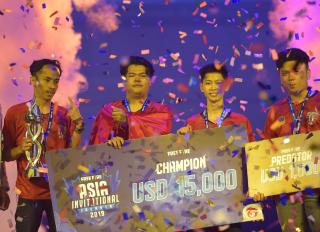Island of God Juara Free Fire Asia Invitational 2019