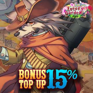 Bonus Top Up 15% Angel Love Online Indonesia
